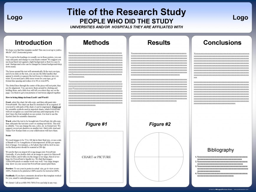 002 Sensational Research Poster Template Powerpoint Design  Free Scientific Ppt Academic
