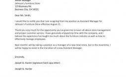 002 Sensational Sample Resignation Letter Template Email High Resolution