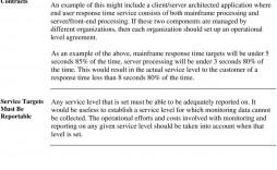 002 Sensational Service Level Agreement Template Photo  South Africa Nz For Website Development