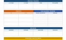 002 Sensational Strategic Planning Template Excel Free Inspiration