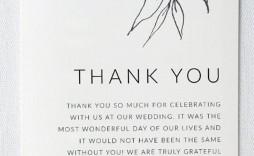 002 Sensational Thank You Note Template Wedding Shower Highest Clarity  Bridal Card Sample Wording
