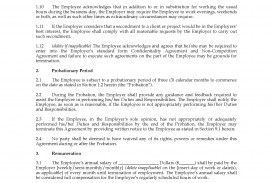 002 Shocking Basic Employment Contract Template Free Nz Image