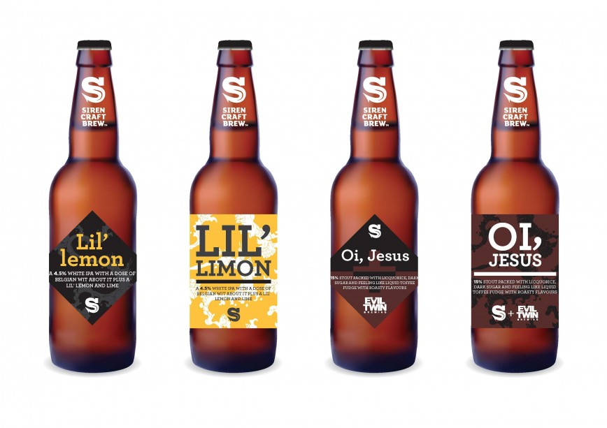 002 Shocking Beer Bottle Label Template Concept  Free Photoshop Word Neck