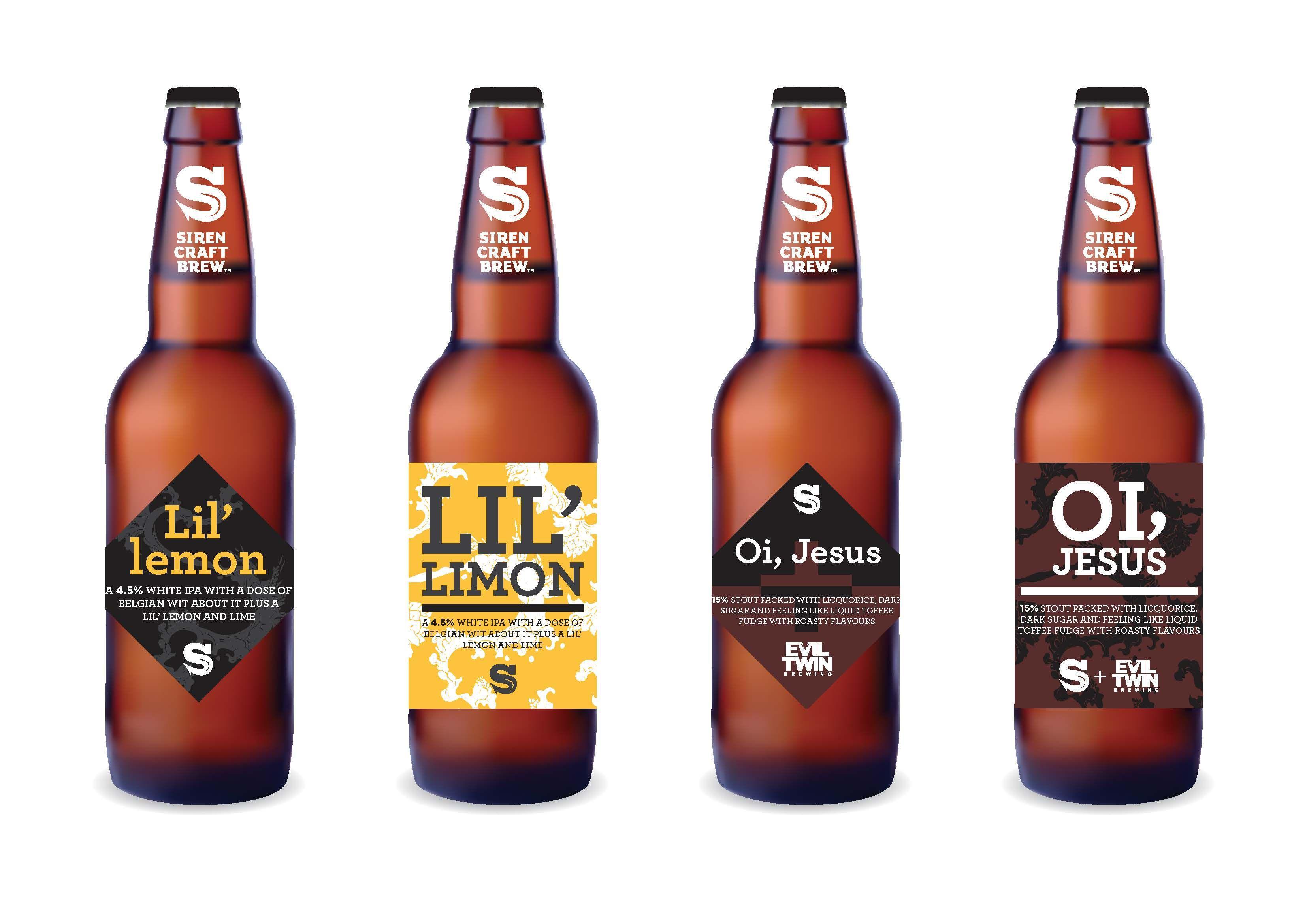 002 Shocking Beer Bottle Label Template Concept  Free Dimension WordFull