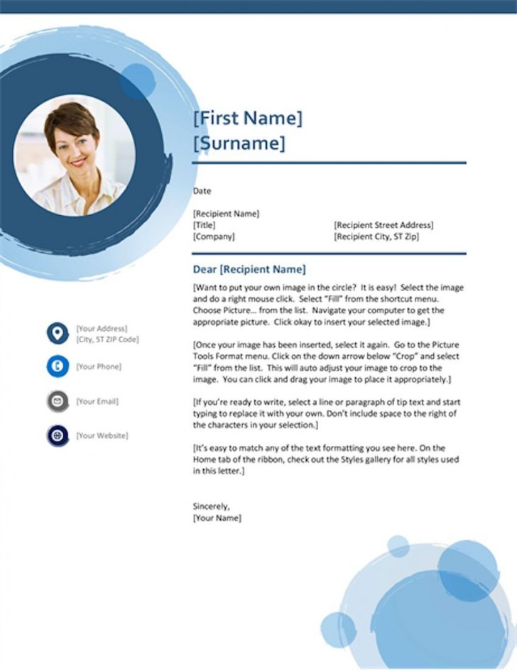 002 Shocking Cover Letter Template Microsoft Word Image  2007 Fax728