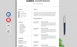 002 Shocking Cv Template Free Download Word Doc Idea  Editable Document For Fresher Student Engineer