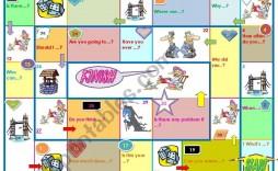 002 Shocking Editable Board Game Template Photo  Word Blank Free