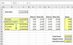 002 Shocking Excel Timesheet Template With Formula Image  Formulas Biweekly Daily