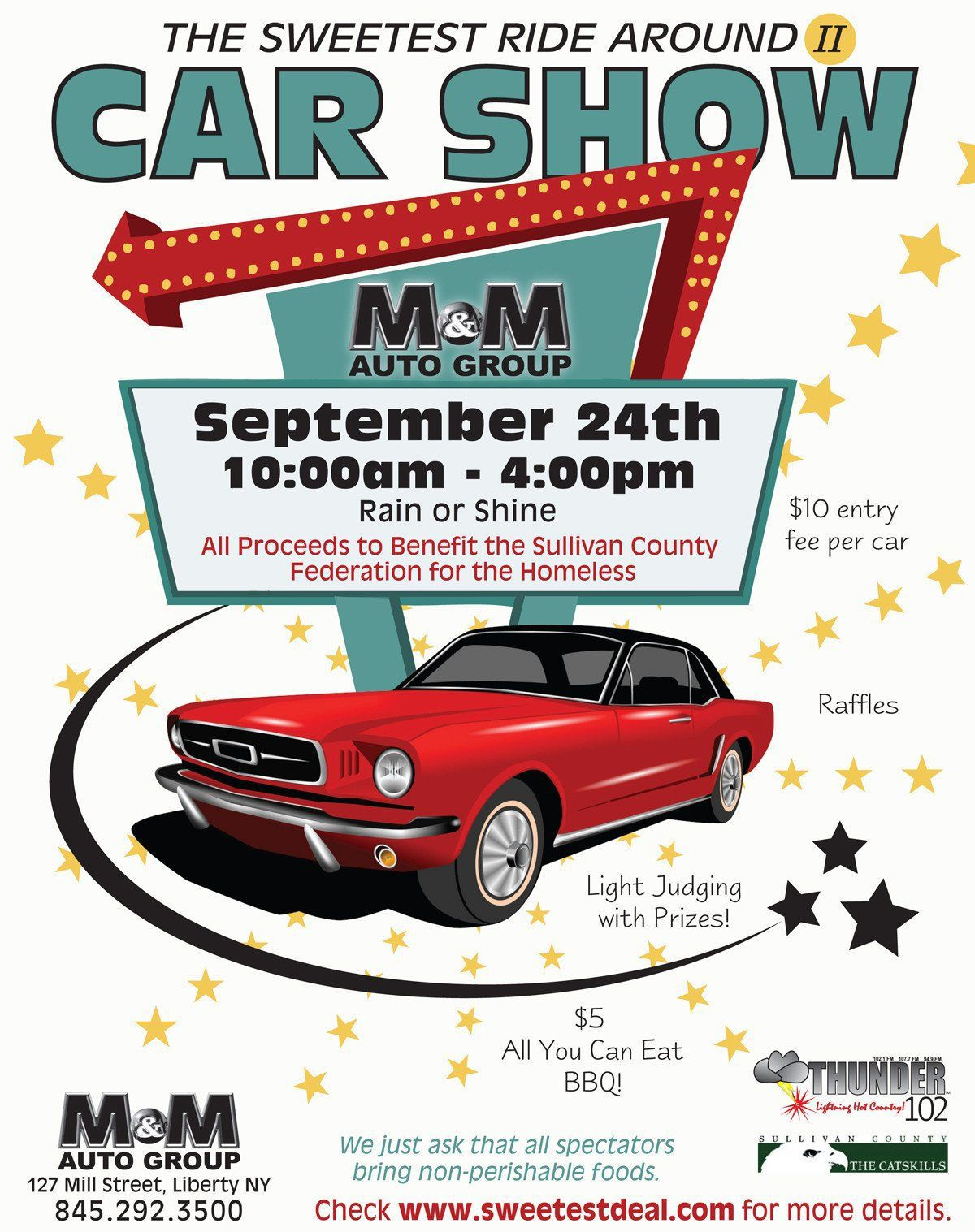 002 Shocking Free Car Show Flyer Template Picture  Psd And BikeFull