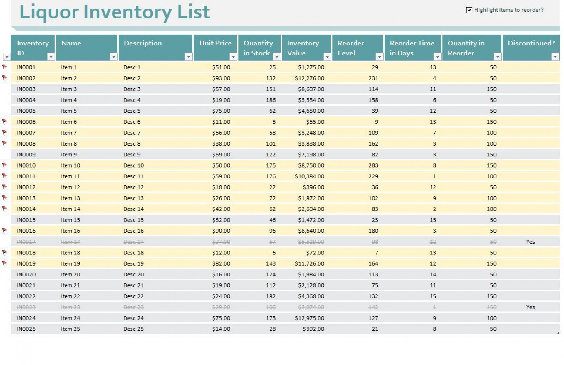 002 Shocking Free Liquor Inventory Spreadsheet Template Excel Highest Clarity 1920