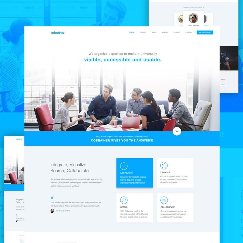 002 Shocking Free Professional Website Template Download Idea  Html And Cs With Jquery BusinesLarge
