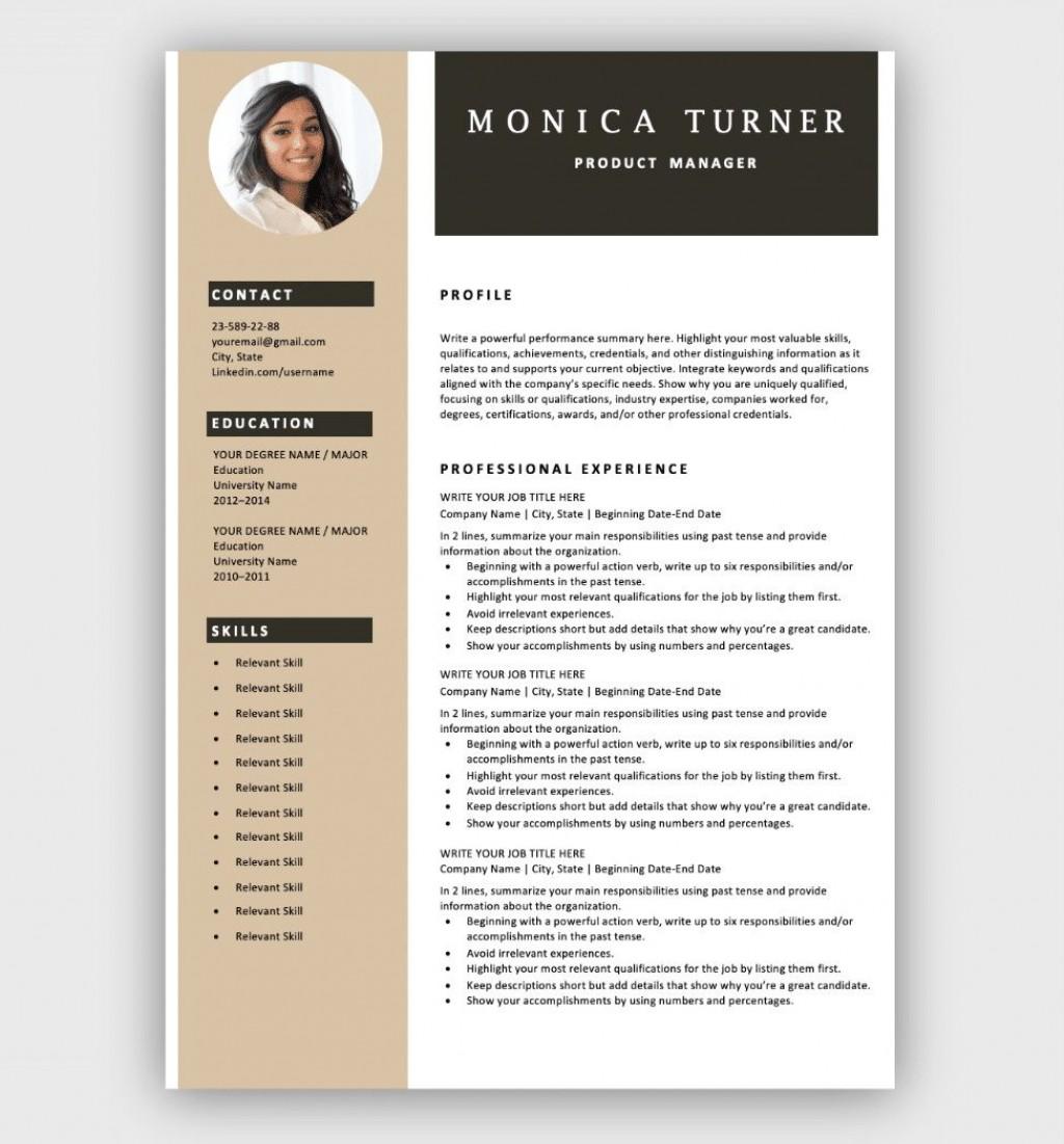 002 Shocking Free Resume Template Microsoft Word Idea  2007 Eye Catching Download 2010Large