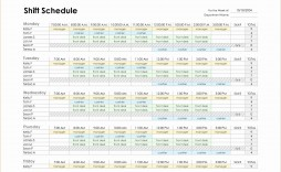 002 Shocking Monthly Employee Schedule Template Excel Highest Clarity  Work Blank