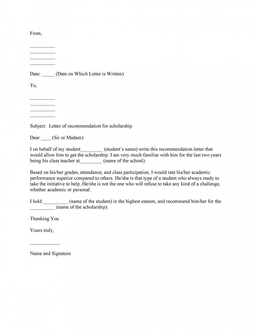 002 Shocking Personal Reference Letter Of Recommendation Template Highest Clarity  Sample Character