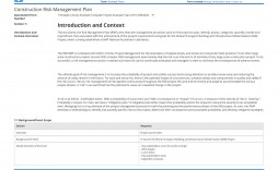 002 Shocking Project Scope Management Plan Template Free Highest Clarity