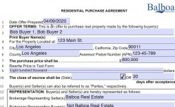 002 Shocking Real Estate Purchase Contract California Photo  Commercial Agreement Pdf