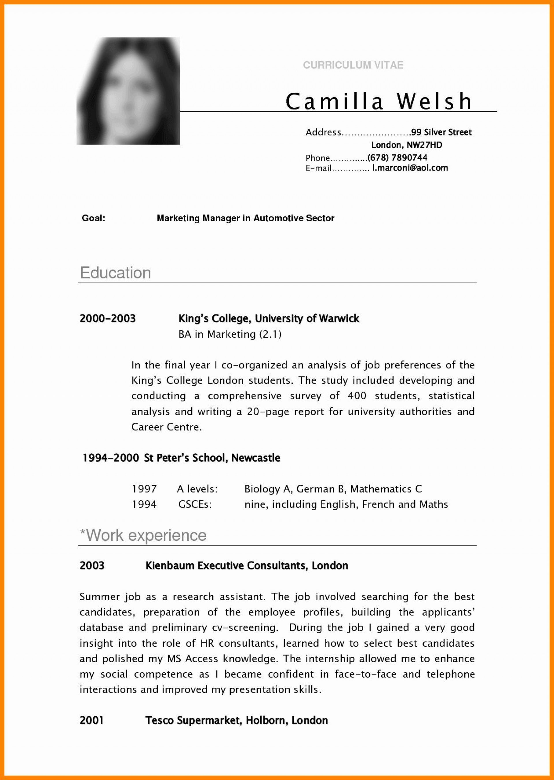 002 Shocking Resume Template For College Student Idea  Students Free Download Example With Little Work Experience1920