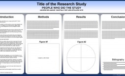 002 Shocking Scientific Poster Template Free Powerpoint Example  Research Presentation