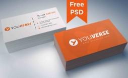 002 Shocking Simple Visiting Card Design Psd File Free Download Idea