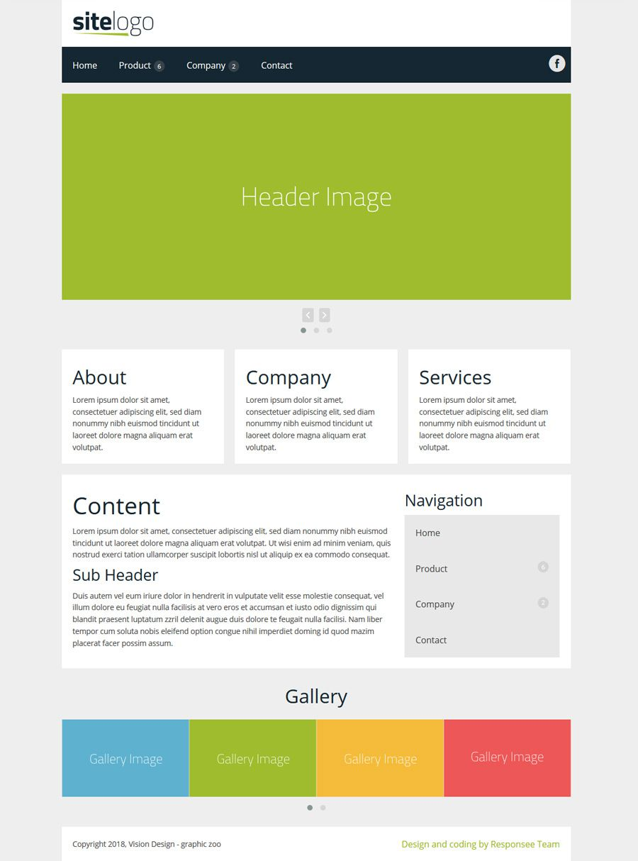 002 Shocking Simple Web Page Template Concept  Free Download Html CodeFull