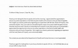 002 Shocking Thank You Note Template Medical School Interview Example  Letter Sample
