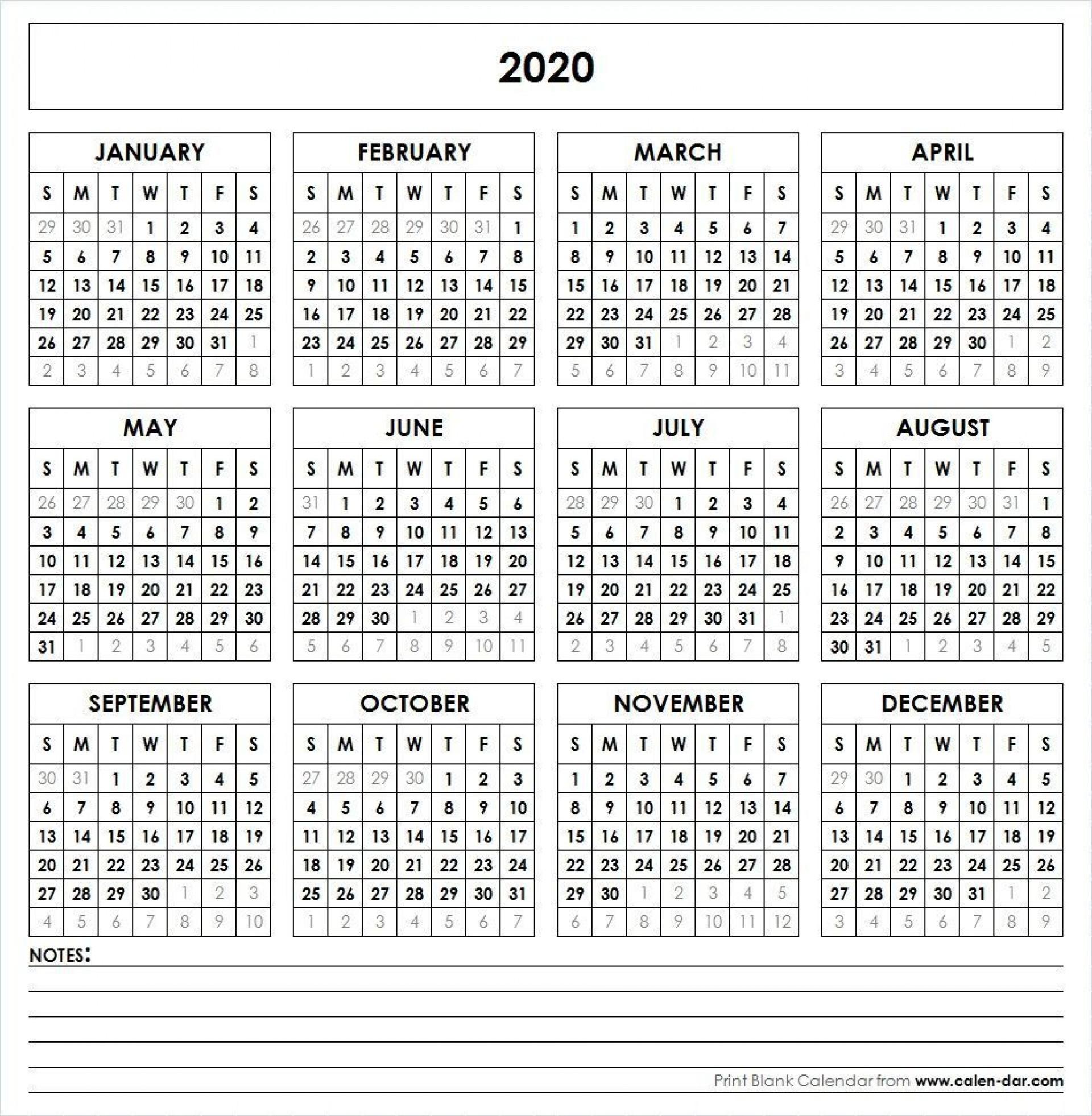002 Simple 2020 Payroll Calendar Template Sample  Biweekly Canada Free Excel1920