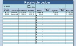 002 Simple Account Receivable Excel Spreadsheet Template Highest Clarity  Management Dashboard Free