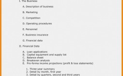002 Simple Basic Busines Plan Template Highest Clarity  Word Download Easy Free Australia