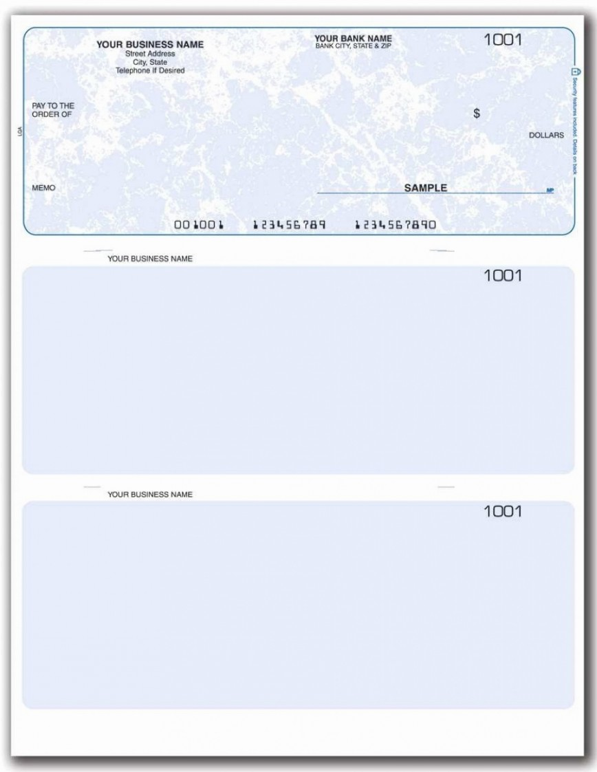 002 Simple Busines Check Template Word Example  Printing Microsoft Blank