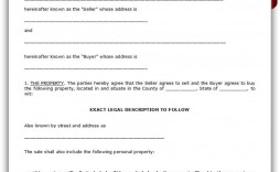 002 Simple Buy Sell Agreement Template For Home Inspiration  Purchase