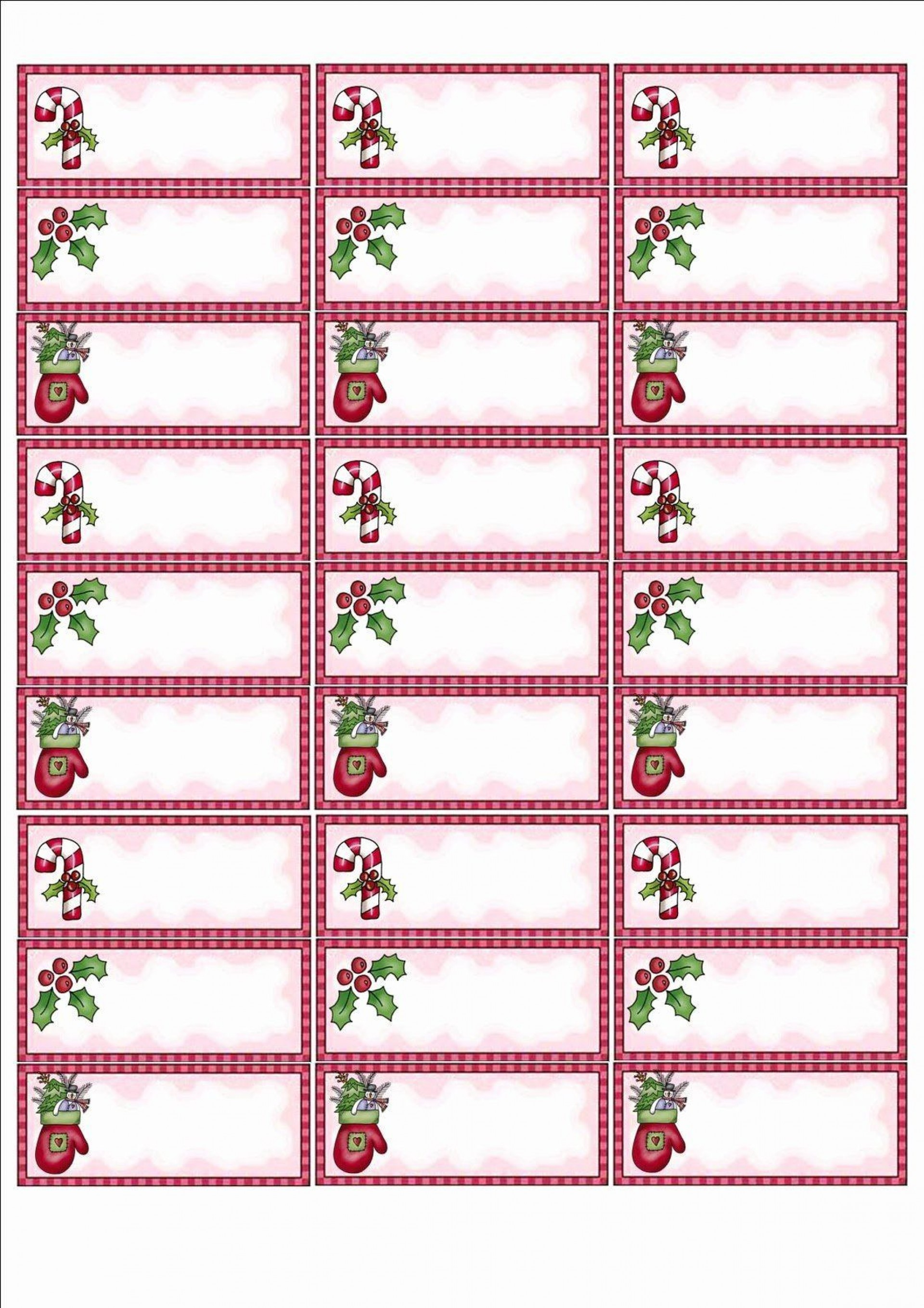 002 Simple Christma Addres Label Template High Def  Free Download Shipping Card1920