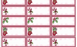 002 Simple Christma Addres Label Template High Def  Free Download Shipping Card