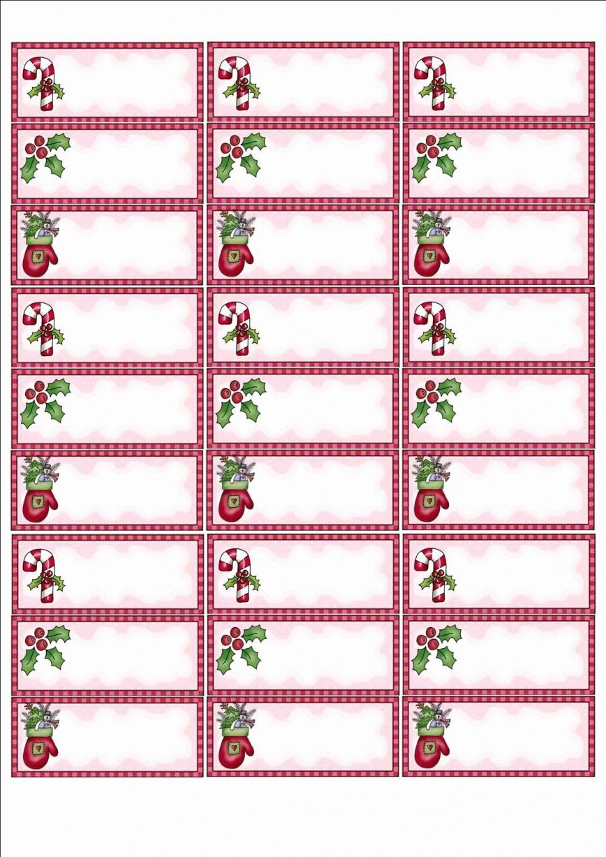 002 Simple Christma Addres Label Template High Def  Return Free Shipping