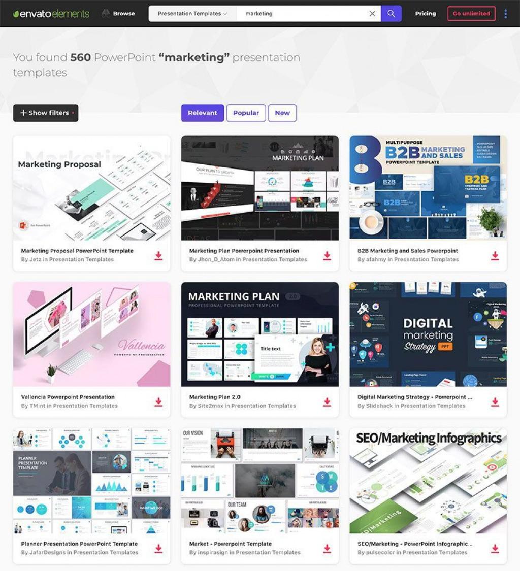 002 Simple Digital Marketing Plan Ppt Presentation Picture Large