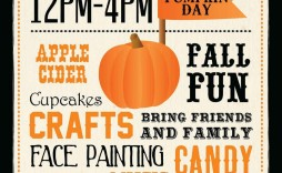 002 Simple Fall Festival Flyer Template Inspiration  Free