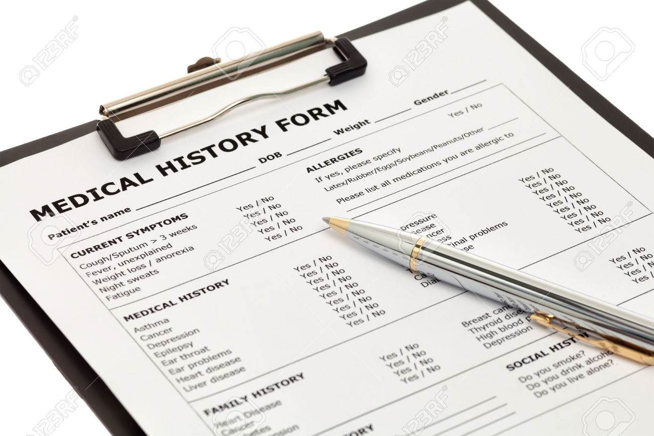 002 Simple Family Medical History Template Free Idea  QuestionnaireFull