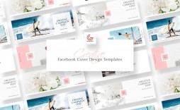 002 Simple Free Facebook Cover Template High Definition  Templates Photoshop