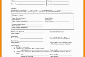 002 Simple Free Hospital Discharge Form Template Design
