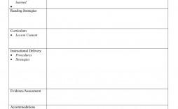 002 Simple Free Lesson Plan Template Word Sample  Preschool Doc