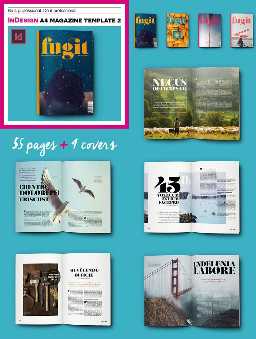 002 Simple Magazine Template Free Word Idea  For Microsoft Download ArticleFull