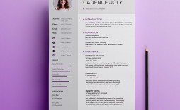 002 Simple Photoshop Resume Template Free Psd High Resolution