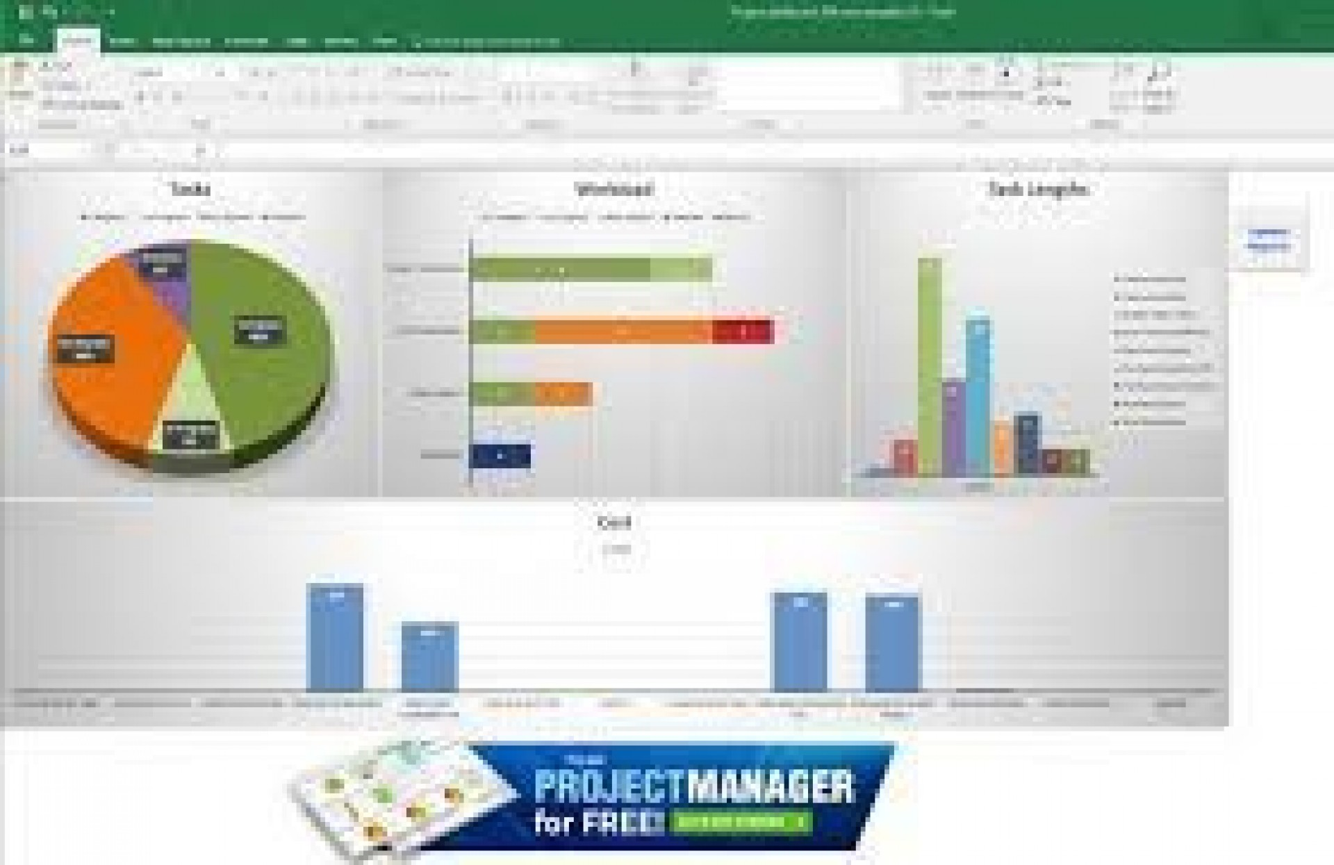 002 Simple Project Management Dashboard Excel Template Free Highest Clarity  Multiple1920