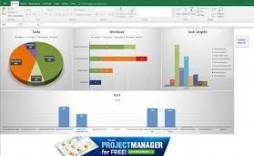 002 Simple Project Management Dashboard Excel Template Free Highest Clarity  Multiple