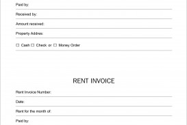002 Simple Rent Receipt Sample Doc High Definition  Format Word India Docx Document