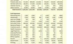 002 Simple Sample Line Item Budget Format Inspiration