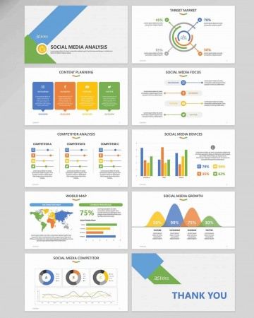 002 Simple Social Media Proposal Template Ppt Image 360