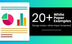 002 Simple Technical White Paper Template High Def  Docx Technology Example Information