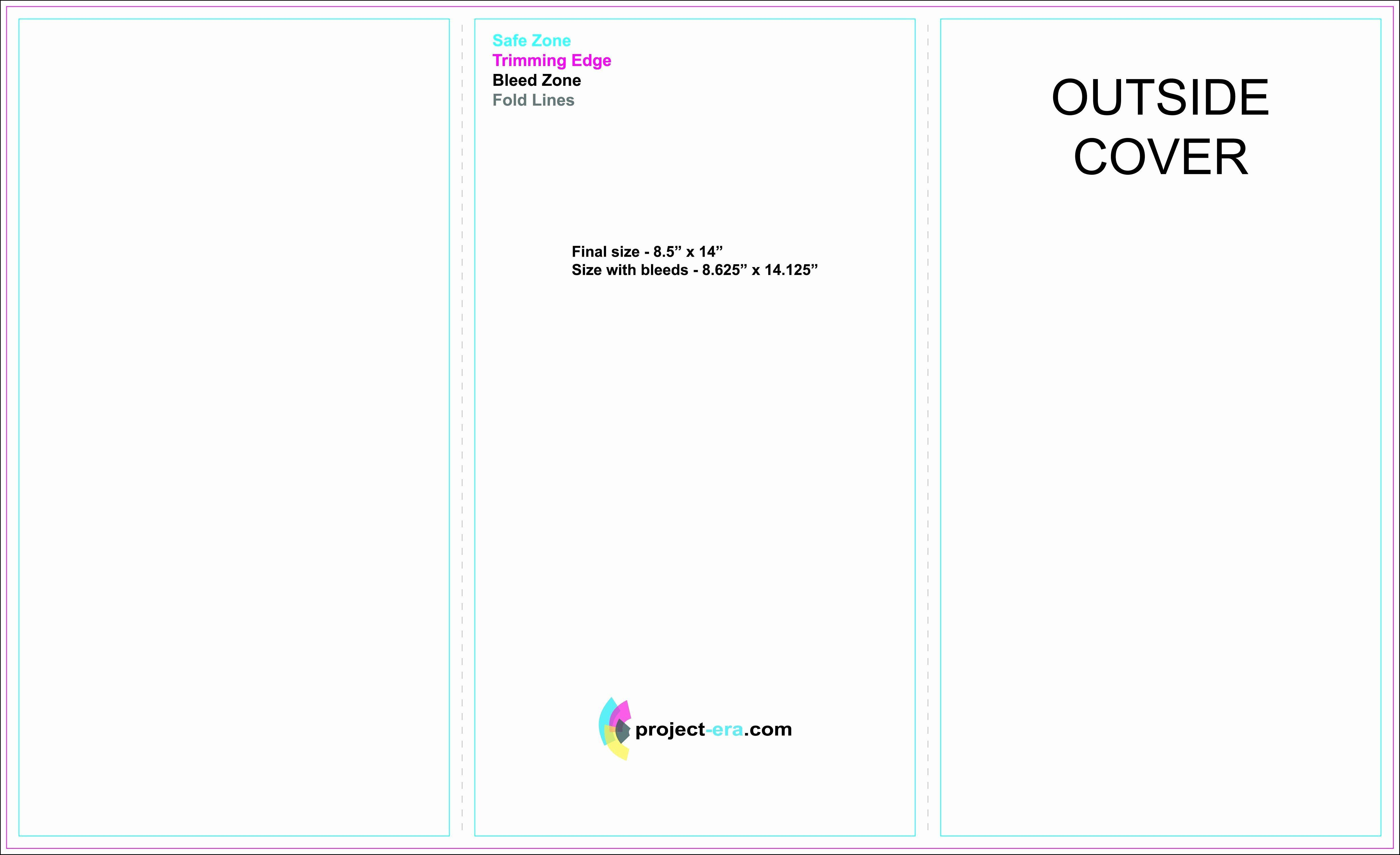 002 Simple Tri Fold Template Google Doc Sample  Docs Brochure Free Pamphlet Blank SlideFull
