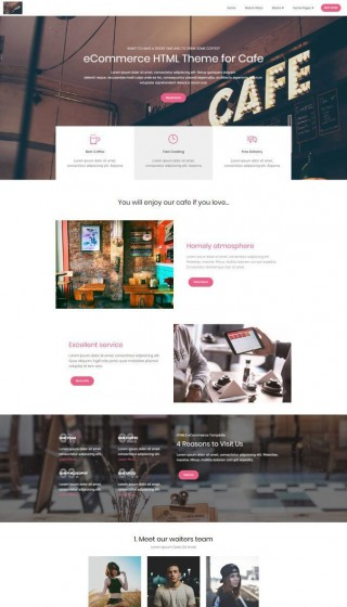 002 Simple Web Template Download Html Sample  Html5 Website Free For Busines And Cs With Bootstrap Responsive320