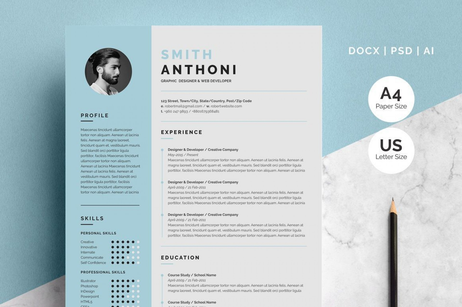 002 Singular Download Resume Template Free Mac Picture  For1920